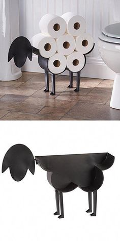 Toilet paper holder for sheep - freestanding storage for bathroom towels . Sheep toilet paper holder - freestanding storage container for toilet paper , Sheep Toilet Paper Holder - Free-Standing Bathroom Tis. Craft Paper Storage, Toilet Paper Storage, Toliet Paper Holder, Bathroom Toilet Paper Holders, Cheap Home Decor, Diy Home Decor, Room Decor, Wall Decor, Diy Casa