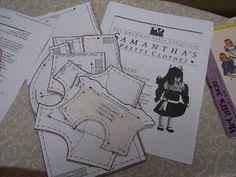 American Girl dolls-- Free Patterns