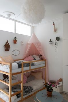 K I D S We want the best for our children, but have you remembered that the air-purifying effect of plants also applie Slow Living, Urban Farming, Air Purifier, Toddler Bed, Indoor, Good Things, Parents, Childrens Rooms, Interior