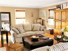 Country Living|Living Rooms You'll Love|Flowers Everywhere {slide 69 of 70}