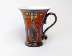 Mug Ceramic mug. Tea mugs Pottery mugs Tea cups by DankoHandmade