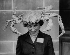 That hat would make anyone crabby!