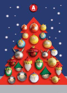Palle Presepe, colección de esferas navideñas hechas a mano. De @Jenelle Alessi