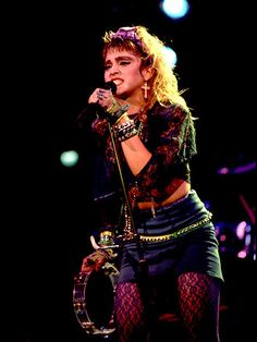 Madonna in 1985 - LIKE A VIRGIN TOUR, her best concert in my opinion. DRESS YOU UP my favorite MADONNA song !!