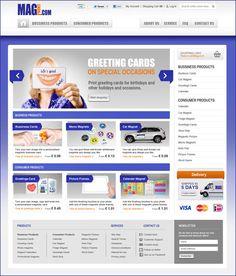 Diseño web para MagPrint