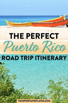 Planning a trip to Puerto Rico? Instead of staying in San Juan plan the perfect Puerto Rico road trip with this itinerary covering ALL the highlights! Barbados, South America Travel, North America, Latin America, Caribbean Vacations, Beach Vacations, Travel Usa, Italy Travel, Globe Travel