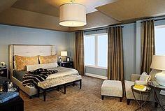 Great Contemporary Master Bedroom