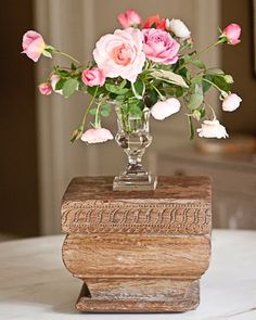 roses And George..... Love this vase