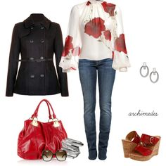 Hibiscus, created by archimedes16 on Polyvore