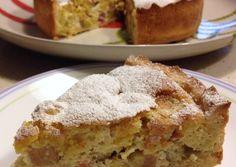 German Rhubarb Cake (Rhabarberkuchen) Recipe -  Very Tasty Food. Let's make it!