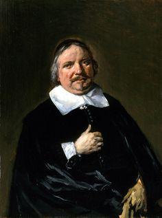 Frans Hals - Portret van Cornelis Guldewagen
