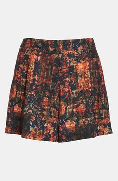 ASTR High Waisted Print Shorts available at #Nordstrom