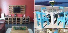 50 nejlepších nápadů na kreativní nábytek z palet do každé domácnosti!
