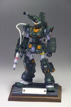 MSV 1/144 FA-78-1 Full Armor Gundam: Work by jaian913. Photo Review http://www.gunjap.net/site/?p=247148
