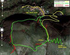Itinerario trakking sul Monte Santa Croce