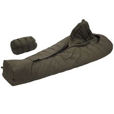 Carinthia Modular Combat Sleeping System (MCSS) (NATO). The NATO Approved Carinthia Modular Combat Sleeping System is a  complete 3 in 1 integrated system consisting of two sleeping bags and one liner, that can all be combined or used independently, hence giving you complete adaptability to your environment. Temperature Extreme/Comfort, Defence 4 Bag only -38°C/-15°C, Tropen bag only -12°C/5°C Full system combined -55°C/-40°C. Includes an integrated mosquito net.