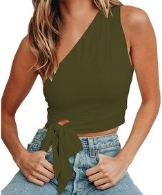 F/_Gotal Womens Hip Hop Printed Crop Tank Top Strap Camisole Sleeveless Vest Shirts Blouse Womens Crop Tops for Summer
