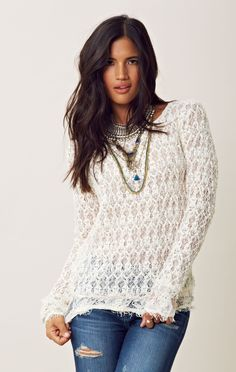 Nightcap Florence Lace Sweater