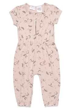 KARDASHIAN+KIDS+Print+Zip+Front+Jumpsuit+(Baby+Girls)+available+at+#Nordstrom