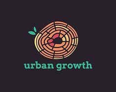 Urban Growth logo design: creative, urban, design, art, eco, green