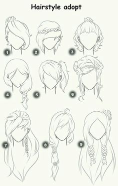 Cut Take Text Nullipara Girls Hairstyles How To Draw Manga Anime . - Cut Take Text Nullipara Girls Hairstyles How To Draw Manga Anime Hair # - Drawing Techniques, Drawing Tips, Painting & Drawing, Hair Styles Drawing, Drawing Ideas, Hair Styles Anime, Anime Drawing Tutorials, Drawing Drawing, Drawing Hair Tutorial