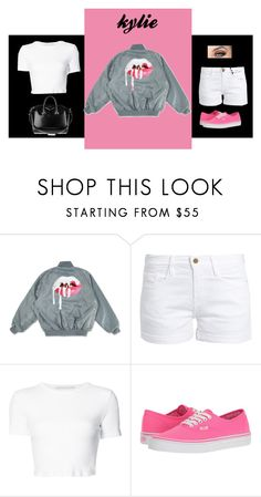 """""""Untitled #982"""" by alwateenalr ❤ liked on Polyvore featuring Frame, Rosetta Getty, Vans and Givenchy"""