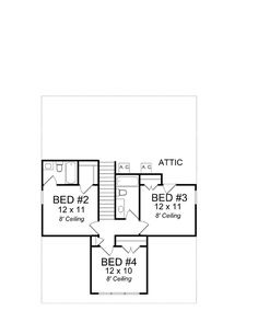 Cape Cod Country Level Two of Plan 61403