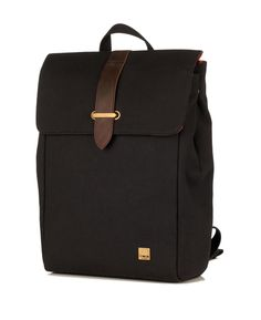 "knomo Balham Falmouth 15"" Backpack 57-400-BLK | Luggage Pros"