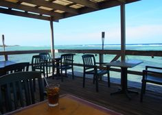 Over the Edge Cafe@Rum Point,Grand Cayman