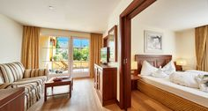 Turm-Suite im Hotel Feldhof in Naturns