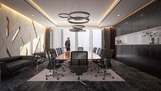 Luxurious Meeting Room _ Kuwait City on Behance