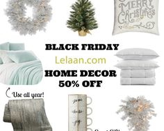 Save big this year with #Lelaan's Black Friday! Check out the amazing savings you'll find on Home Decor Products...  Shop for Black Friday deals with Lelaan. Lelaan.com Black Friday sales can't be beat, Love ideas, Love designs, Best home decor, luxury sheets, colorful towels for make perfect event and have everything you need to make the holidays bright.