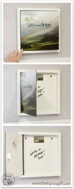The \u0027Remarkable\u0027 Open Art Message Board Designed as wall art for