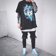 FOR YOUR INSPIRATION #fashion #style #street #streetwear #ripped #ripped #urban #stylish #savage look #inspiration #fashionlover #fashiorismo #jeans #shirt #sweatshirt #menstyle #men #mensfashion #women #womensfashion #look #outfit #savagelook #everything #street #man #men #tshirt #vest #lovestyle #love #fashion #fashionist #stylist