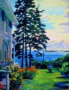 Painting by Jill Hoy