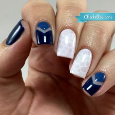 VIDEO: Snakeskin Nail Nail Art Effect with Gel Polish