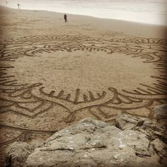 In progress nearly complete Ocean Beach SF  #andresamadorarts #oceanbeach - Get all my secret travel hacks http://ift.tt/1PY2sl0