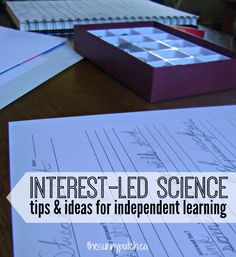 Wondering how you can introduce interest-led science in your homeschool? This post has some great tips and advice!