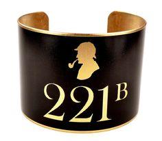 Sherlock Holmes Cuff Bracelet