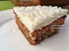 Lezzetli Sanatlar Kıbrıs tatlısı Cyprus Food, Turkish Recipes, Feta, Tea Time, Cake Recipes, Health Fitness, Sweets, Chocolate, Cooking