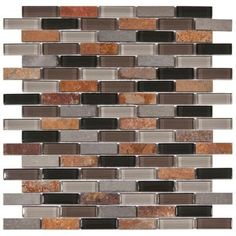 ideas for a diy project - kitchen backsplash for kitchen with black granite and chestnut colored cabinets...