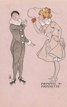 PIERROT ET PIERRETTE 1904