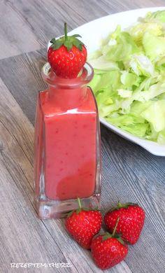 Rezepte mit Herz ♥: Erdbeer - Vinaigrette