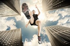 Sports Advertising by Lhex Martinez, via Behance