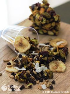 Perfect for on the go snacking!