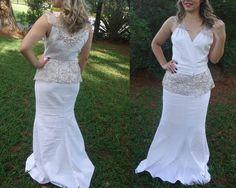 Vestido de Noiva Exclusivo por Juliana Carvalho