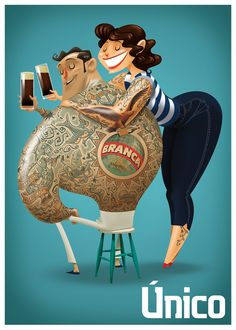 First Prize - Fernet Branca Competition on Behance