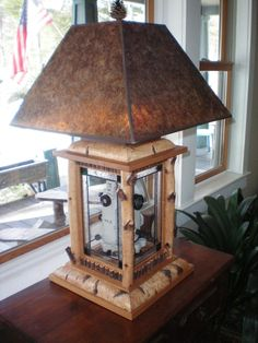 Rustic John Parsons Sculpture Hunter Lamps Welcome To My Home Pinterest The Shade