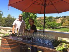 Wine tasting at Bridlewood Estate Winery, Santa Barbara | spaswinefood