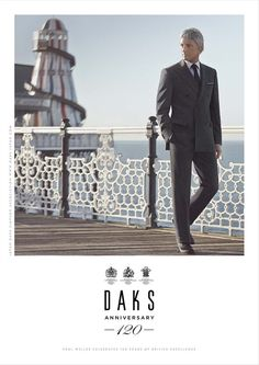 Our new advertising campaign for Daks starring Paul Weller. Design, Concept and Art Direction by Paul Barry Design + Art Direction.